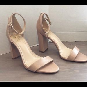 Vince Camuto nude heels
